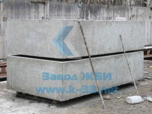 Блоки фундамента железобетонные для водопропускных труб прямоугольного сечения