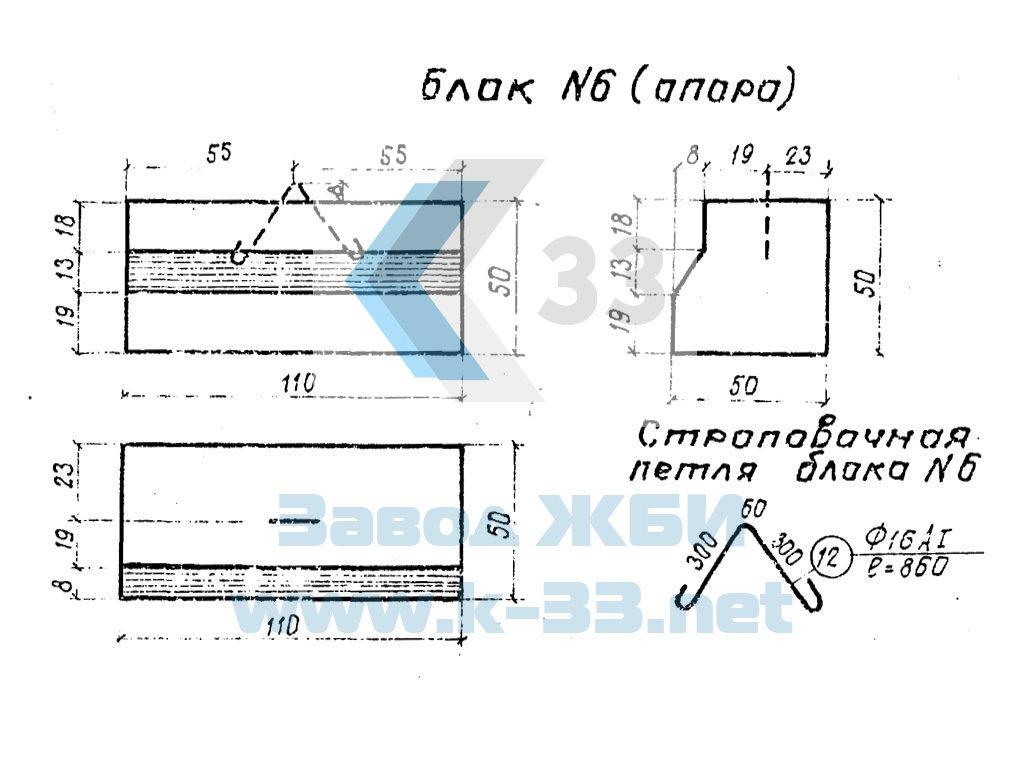 Опоры и шкафные блоки лестничных сходов серии 3.501-96, ч. 1