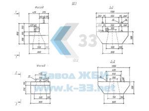 Оголовки ОГ1, ОГ2 серия 3.501-180.95, в. 2