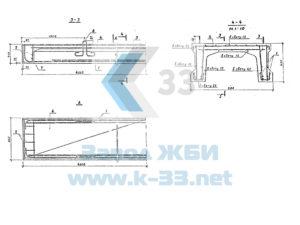 Элементы сборных железобетонных мостов для водохозяйственного строительства. Серия 3.820-13, в. 3