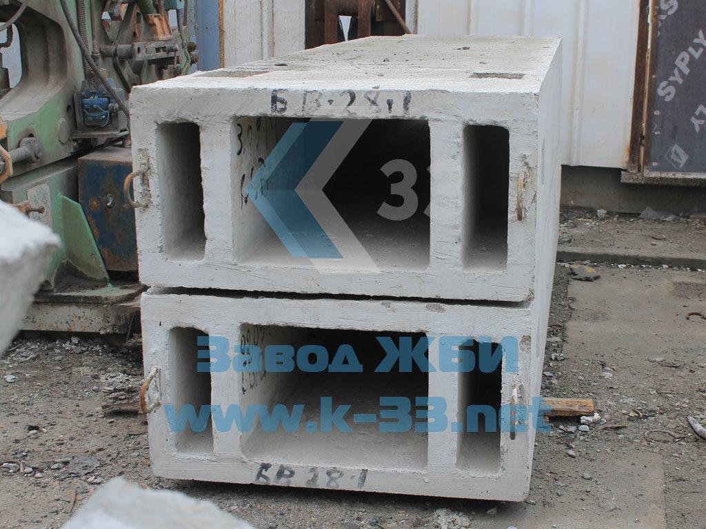 Блоки вентиляционные БВ (вентблоки сборные и монолитные)
