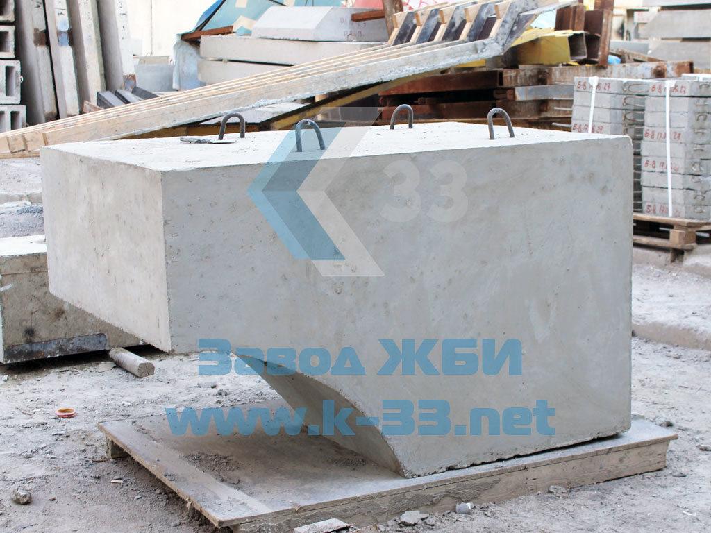 Лекальный блок Ф1п.л-10-90 - фото