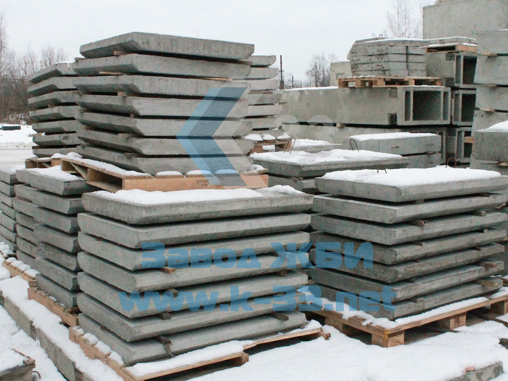 Плита укрепления железобетонная П-2 - фото