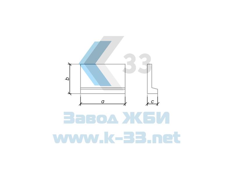 Блоки экрана для круглых водопропускных труб с плоским основанием. Шифр 2175РЧ, в. 1-1