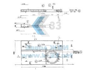Плиты перекрытия дренажных систем. Серия 3.503-21