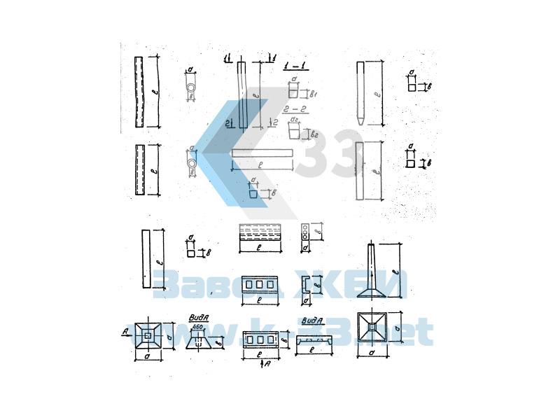 Унифицированные изделия подстанций 35-500 Кв. Серия 3.407-102, в. 1
