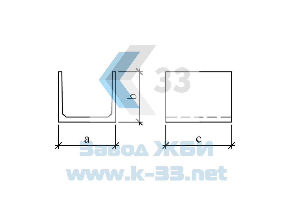 Блоки фундаментов для круглых труб с плоским основанием. Серия 3.501.1-144, в. 0-2