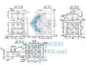 Фундаменты и скальные крепления под металлические опоры ВЛ 35-500 кВ. Серия 3.407-123 в. 3