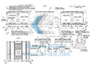 Блоки коллекторов подземных коммуникаций. РК 1101-87