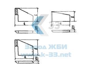 Откосные стенки водопропускных труб с плоским основанием. Серия 3.501.1-144, в. 0-2