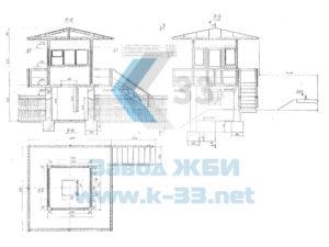 Плиты и блоки сооружений ж/д станций серии 3.501-96, ч. 1