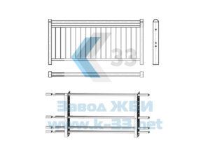 Полимеркомпозитные перильные и защитные ограждения для мостов и путепроводов