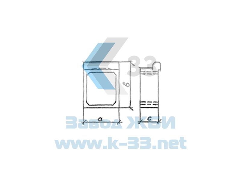 Оголовочные звенья прямоугольных водопропускных труб. Серия 3.501.1-177.93