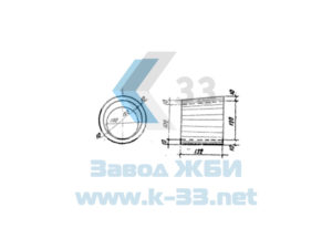 Звенья оголовков труб водопропускных круглых для железных и автомобильных дорог. Серия 3.501-59