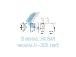 Средние звенья прямоугольных железобетонных водопропускных труб. Серия 3.501-104