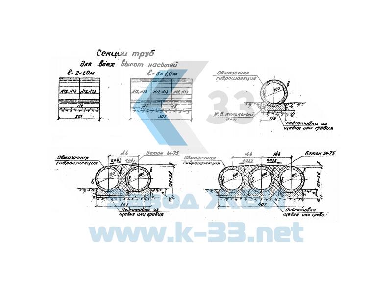 Звено цилиндрическое №73 - чертеж