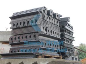Комплектующие для настила железнодорожных переездов плитами типа ПП