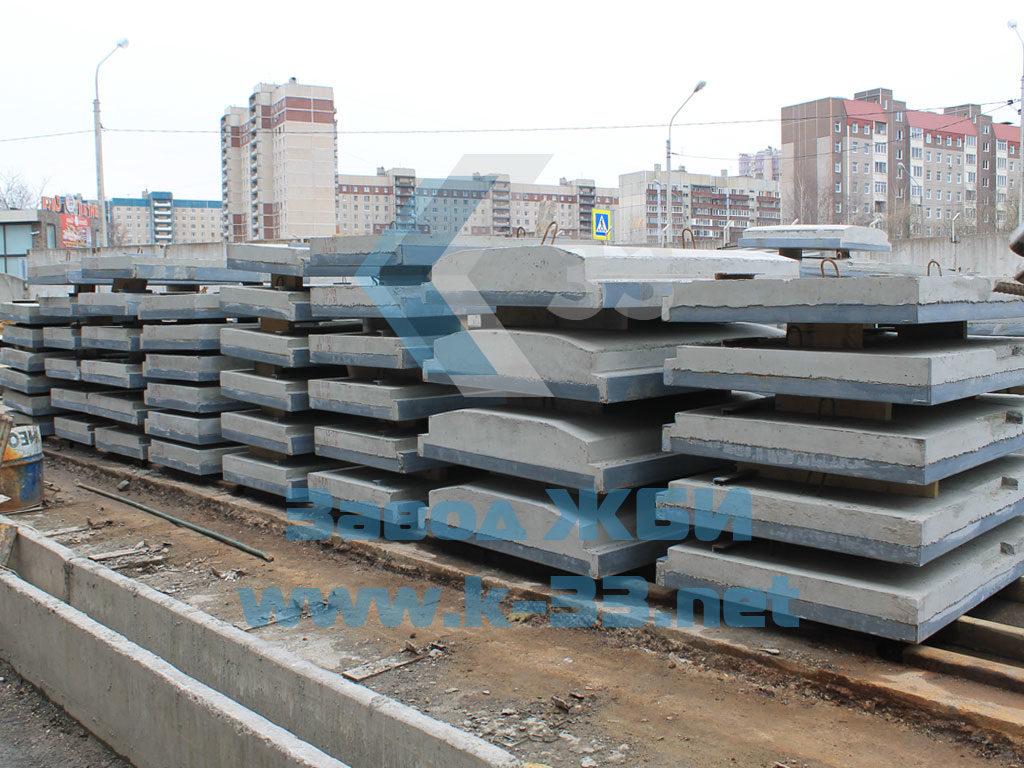 Плиты ПП настила железнодорожных переездов