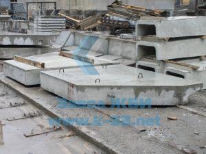 Откосные стенки и крылья для железобетонных водопропускных труб прямоугольного сечения