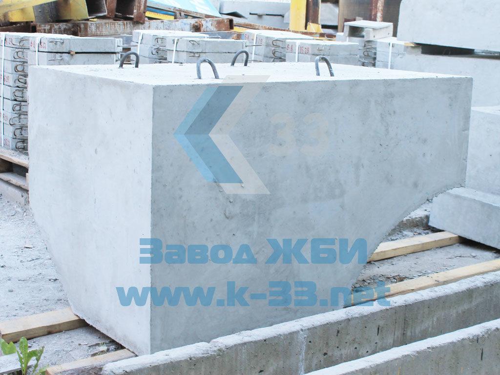 Лекальный блок Ф1п.л-10-120 - фото
