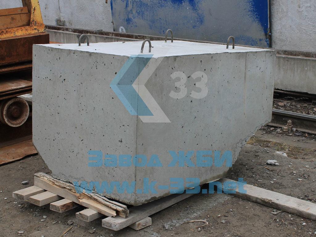 Лекальный блок Ф1п.л-20-90 - фото