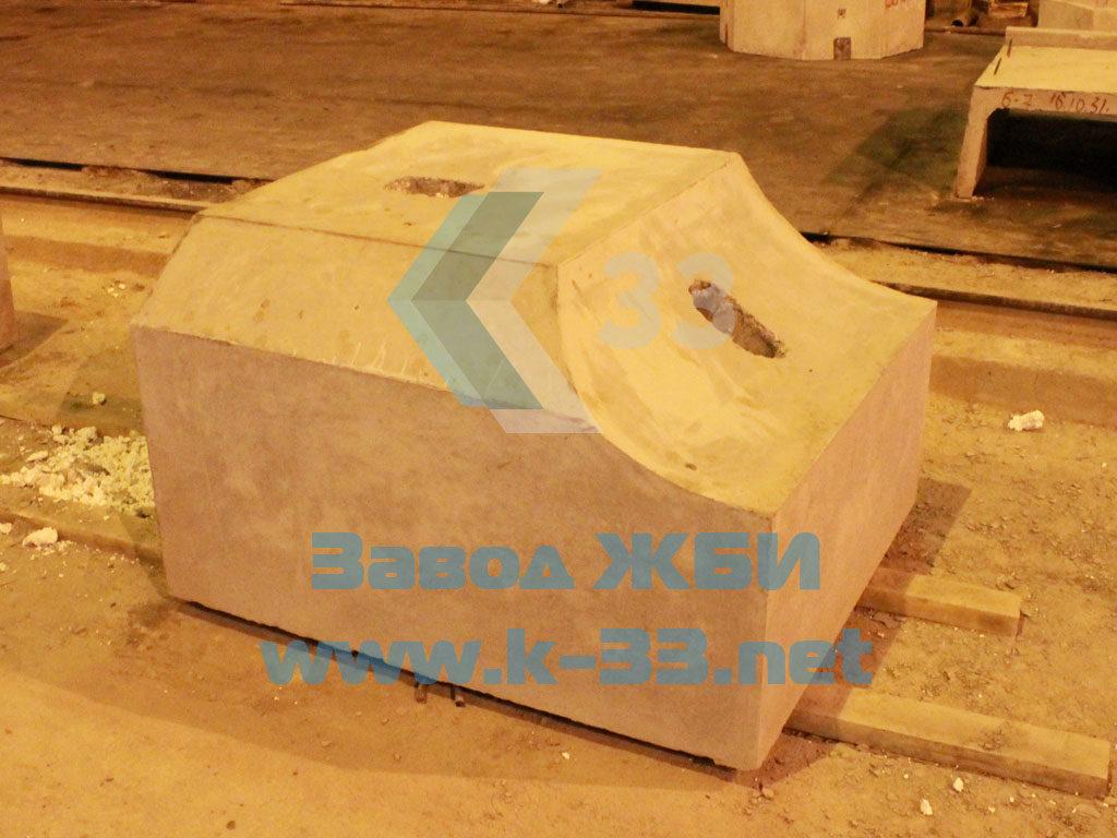 Лекальный блок Ф1п.л-30-90 - фото