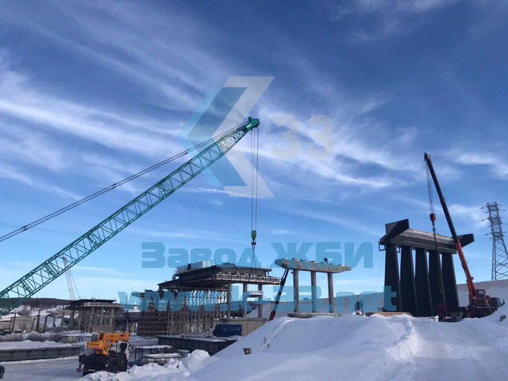 Производство и поставки ЖБИ для сборных водопропускных труб в Мурманскую область