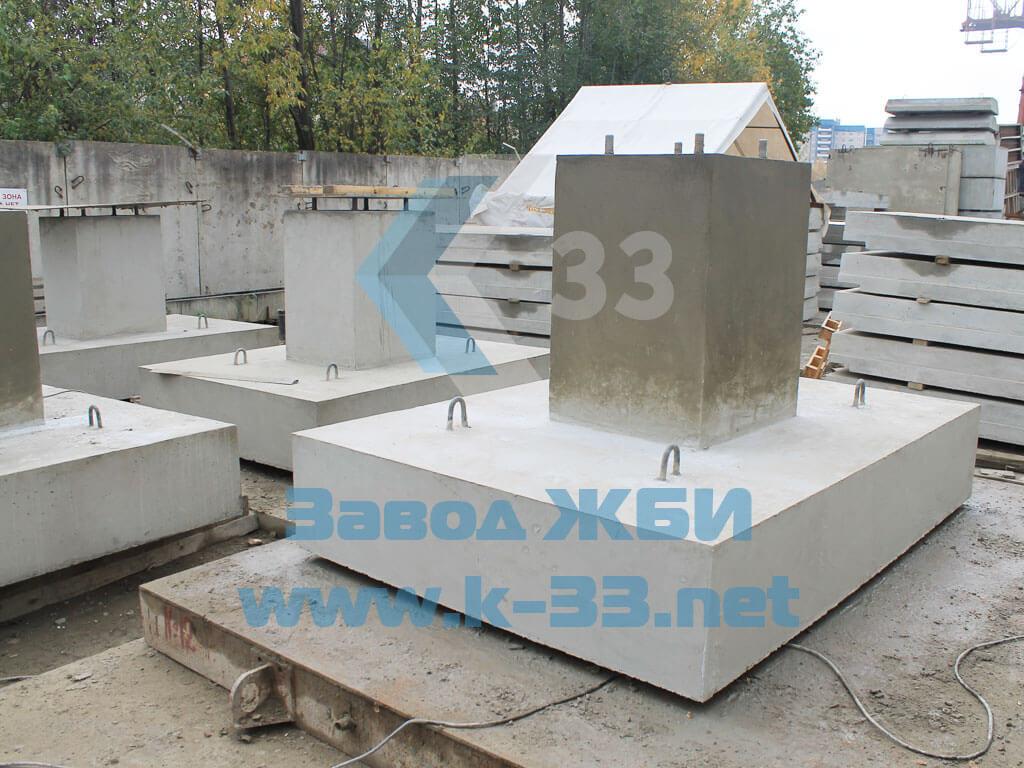 Фундамент железобетонный для дорожных знаков ФМ5 - фото