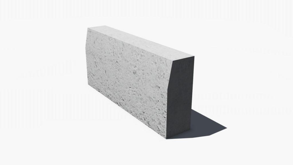 Блок бетонный Б-5 - фото