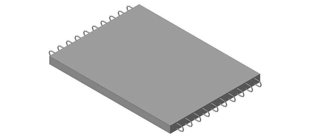 Коллекторная плита днища железобетонная КД-42 - фото