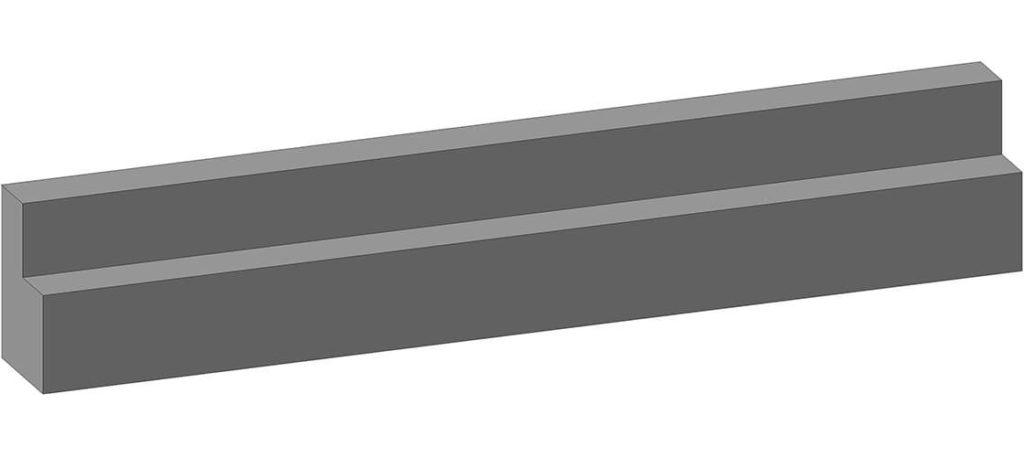 Коллекторная балка железобетонная КБ-36 - фото