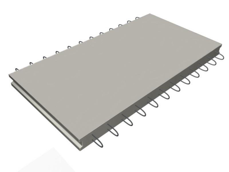 Коллекторная плита днища железобетонная КД-21 - фото