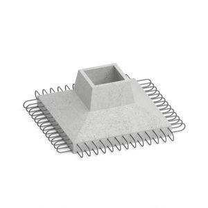 Фундамент железобетонный КО-120
