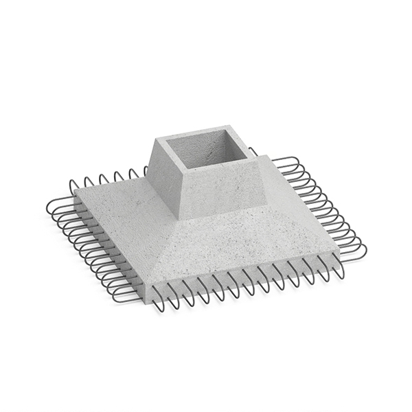 Фундамент железобетонный КО-120 - фото