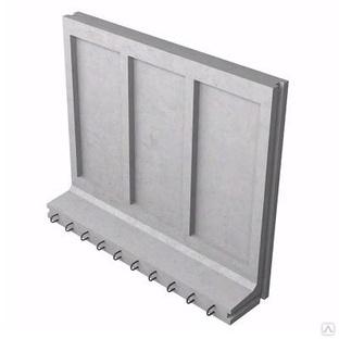 Коллекторный стеновой блок железобетонный КС-18 - фото