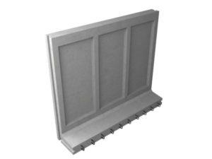 Коллекторный стеновой блок железобетонный КС-32