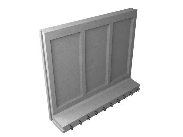 Коллекторный стеновой блок железобетонный КС-32 - фото