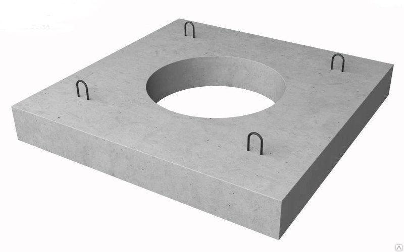 Коллекторная плита перекрытия железобетонная КП-30 - фото