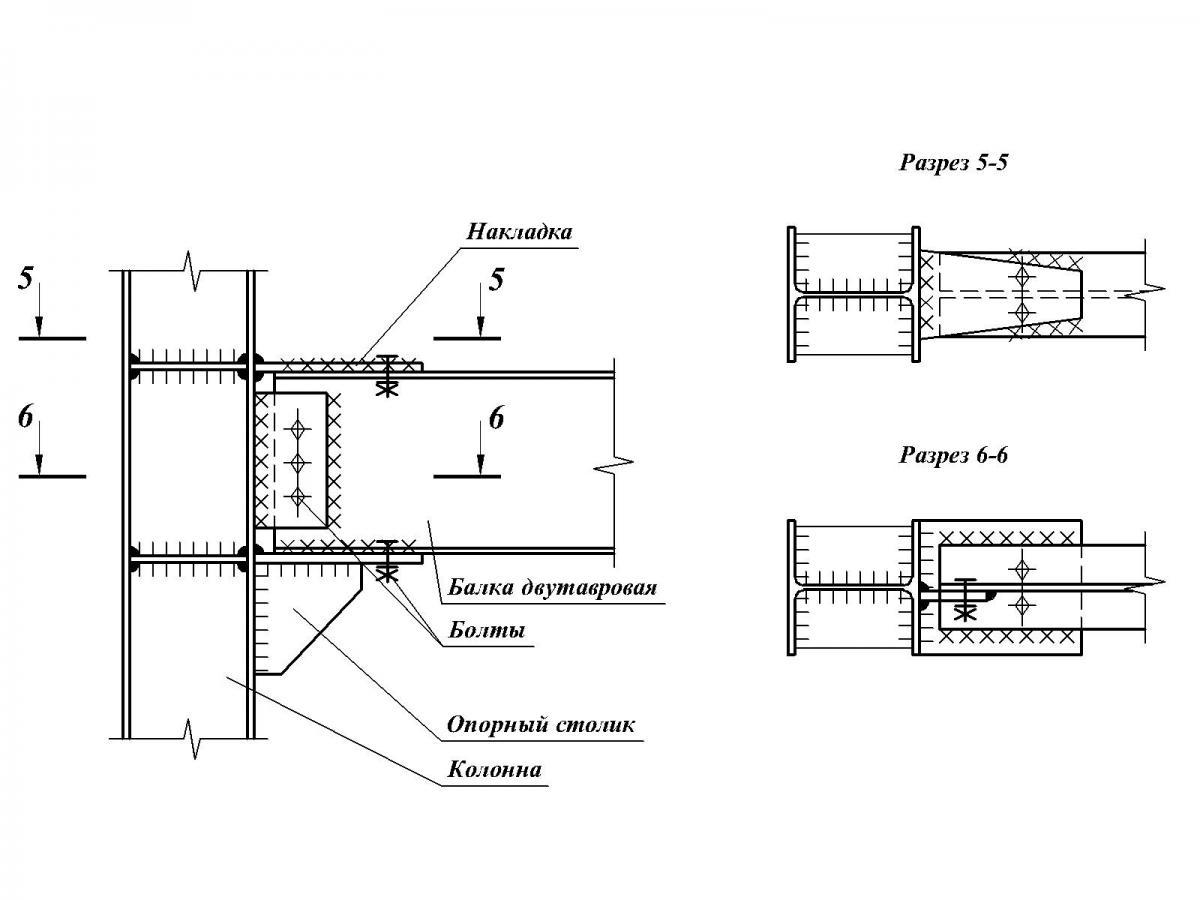 Крепление укоса У-51 (12.020) - фото