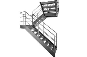 Лестницы, площадки, стремянки, ограждения