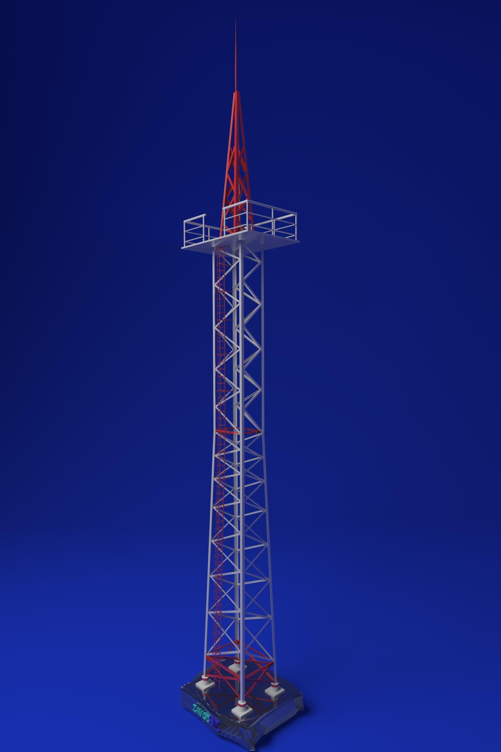 Молниеотвод 33.2м МС-33,2 (3.407-108) - фото
