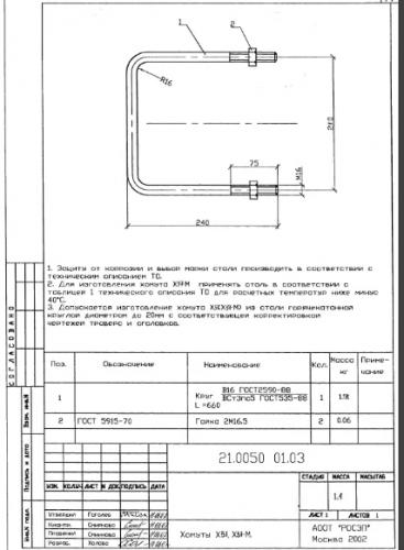 Хомут Х-51 (21.0050) - фото