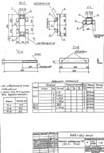 Крепежный элемент ТС-8 (3.407.1-137.2)