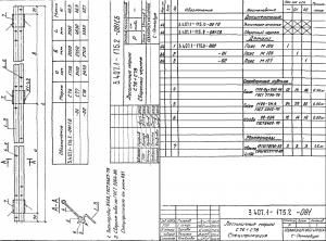 Лестничный марш С76 (3.407.1-175)