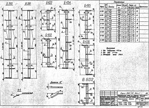 Лестница Б434 (3.407-131)