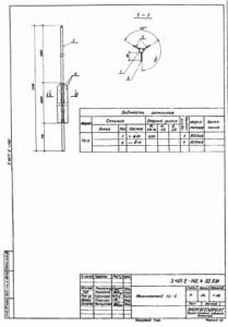 Молниеотвод ТС-5 (3.407.2-140.4)