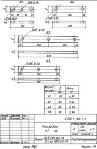 Накладка Н1 (3.501.1-145.1)