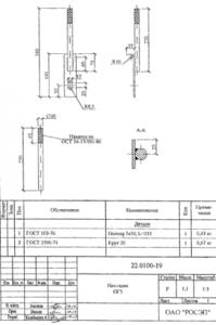 Накладка ОГ-5 (22.0100)