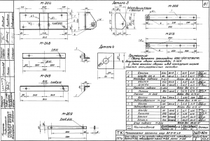 Накладка подкоса М-215 (3.407-80М)