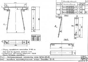 Оголовок ОГ-10 для деревянных опор с 2мя штырями ШУ-22-1 (альб.3.407-85)